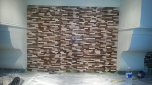 Back splash after