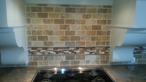 Back splash before