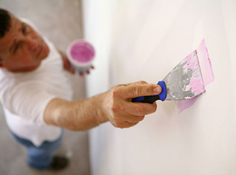 Drywall repair and installation in Frisco